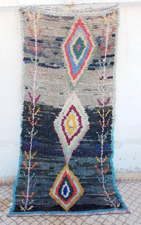 Tapis Marocain Boucherouite Etsy