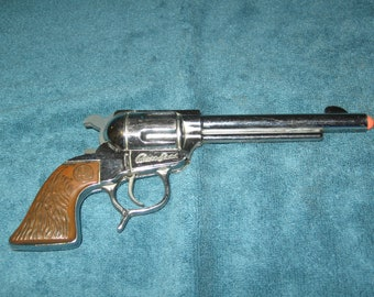 """Vintage George Schmidt- 1952-53 *ALAN LADD* """"SHANE"""" Toy Cap Gun In Excellent, Aged Beautifully Condition.."""