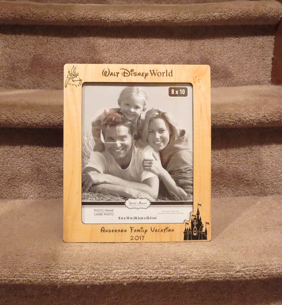Walt Disney World 5x7 or 8x10 Your Choice Picture Frame