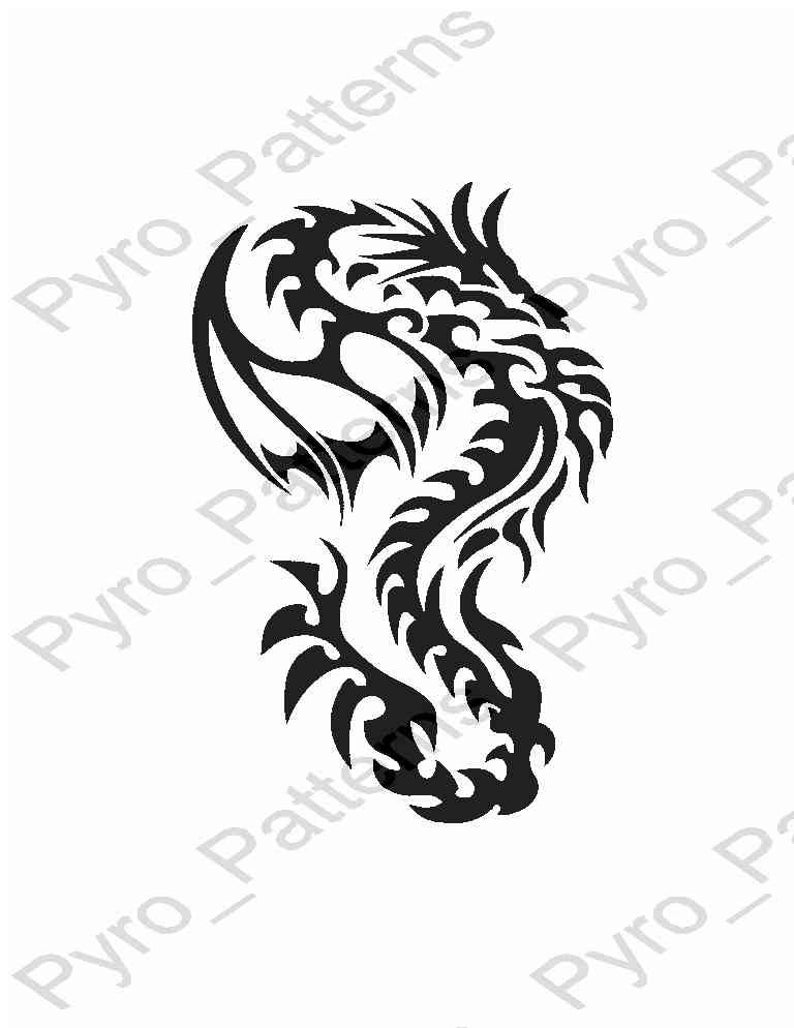 photo relating to Dragon Stencil Printable titled Pyrography Picket burning Chinese Dragon Habit Printable Stencil Immediate Down load Pyro_Designs_CHINESE DRAGONS 0375