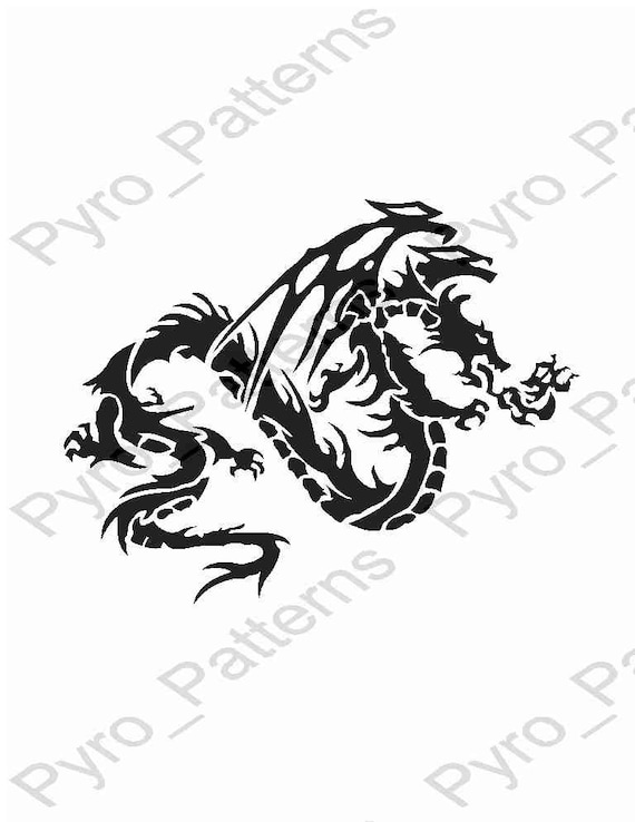 image relating to Dragon Stencil Printable named Pyrography Wooden burning Chinese Dragon Behavior Printable Stencil Quick Down load Pyro_Behavior_CHINESE DRAGONS 0364