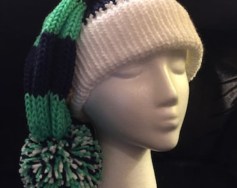 Sports theme slouchy hat