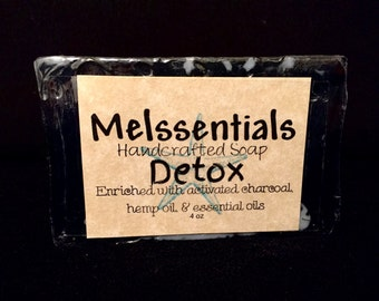All Natural, Activated Charcoal, Detox Soap