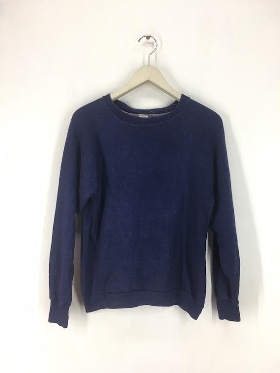 Vintage 70s plain sweatshirt M