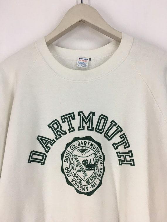 Vintage 80s Dartmouth champion sweatshirt XL - image 3