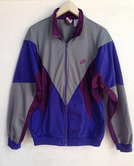 Vintage 90s Nike sweater jacket M