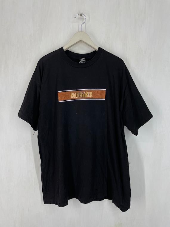 Vintage Keane Band t shirt britpop band dark blue