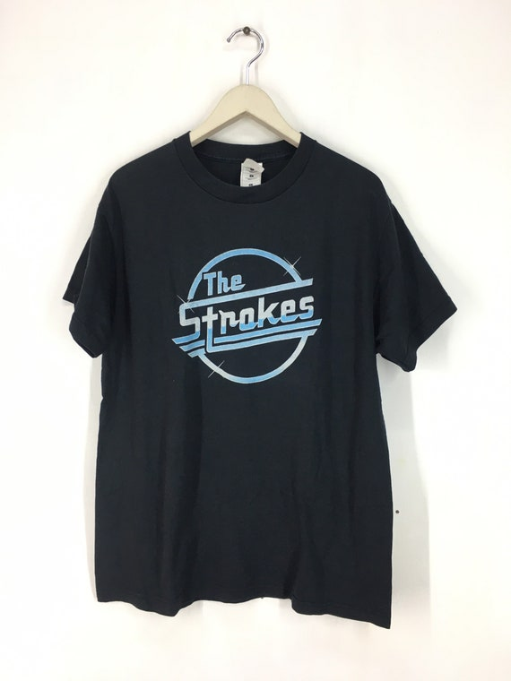 Vintage The Strokes band t shirt L