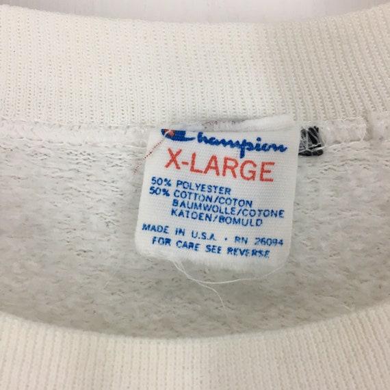 Vintage 80s Dartmouth champion sweatshirt XL - image 5