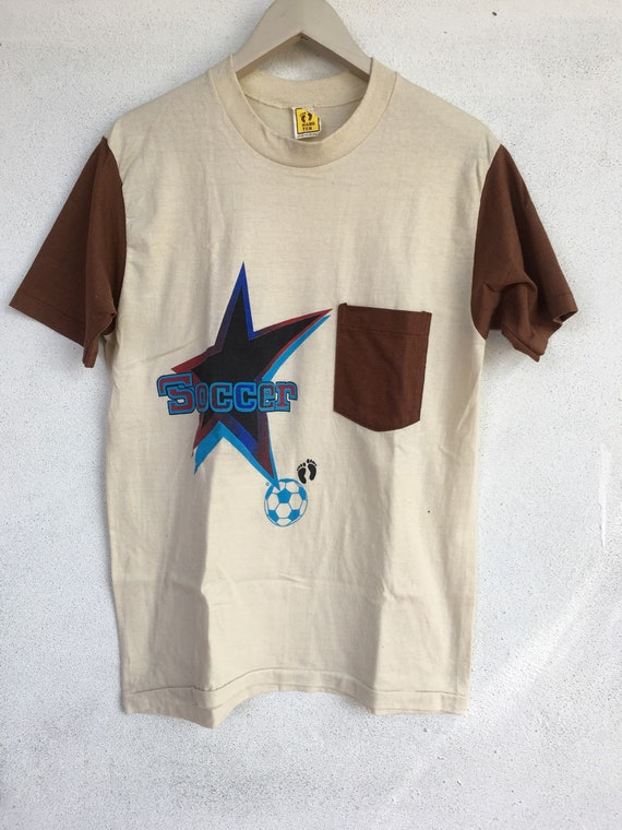 tee skate pocket soccer Hang 70s punk L vintage Ten shirt Rare t pc1TqwWY0n