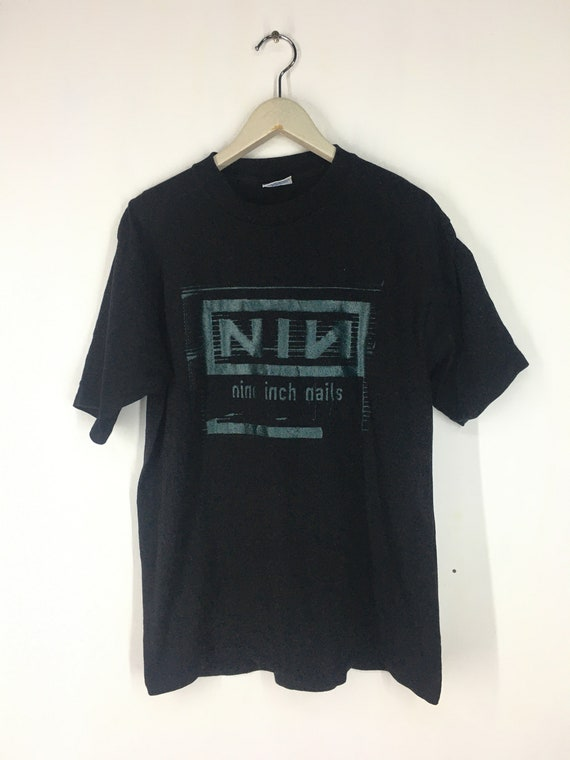 Vintage 90s NIN nine inch nails Nothing band t shi