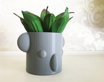Koala Planter Head, Koala Bear Planter, Koala Planter Pot, Animal Succulent Planter, New Look
