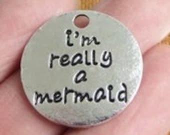 I'm Really a Mermaid  - Clip-On - Ready to Wear