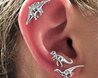 Jurassic Dinosaur Stud Earrings Set   Dinosaur Earrings   Velociraptor Earrings   T Rex Earrings   Paleontologist Gift   Dinosaur Lover Gift