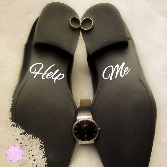Brautigam Schuhe Aufkleber Helfen Sie Mir Hochzeit Schuhe Etsy