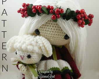 December - Amigurumi Doll Crochet Pattern