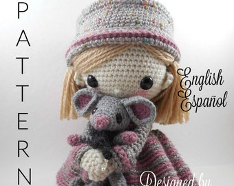 Sherily and her Mouse - Amigurumi Doll Crochet Pattern