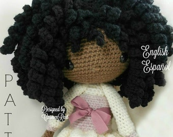 Michelle - Amigurumi Doll Crochet Pattern