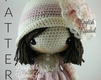 Dorle- Amigurumi Doll Crochet Pattern PDF