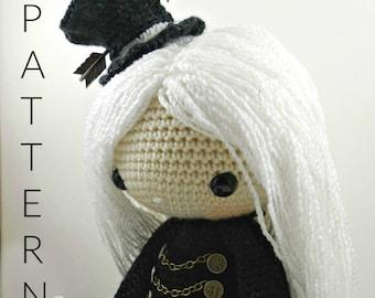 Lisette-Steampunk-Amigurumi Doll Crochet Pattern PDF