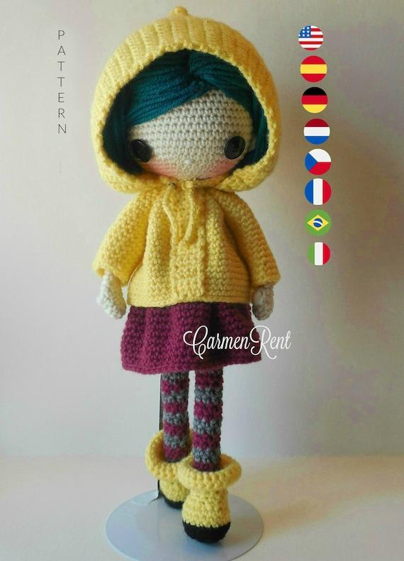 Abigail Crochet Doll Pattern Amigurumi Doll Pattern | Etsy | 791x570