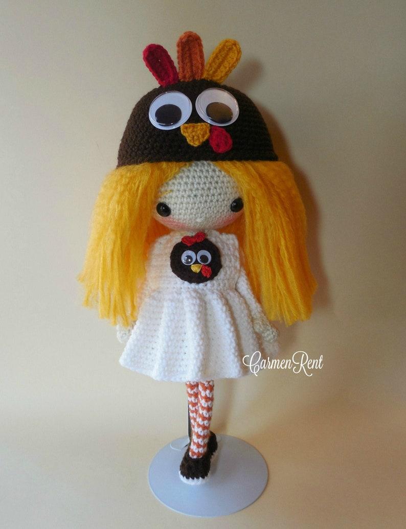 Amigurumi Doll Crochet Pattern Teresa