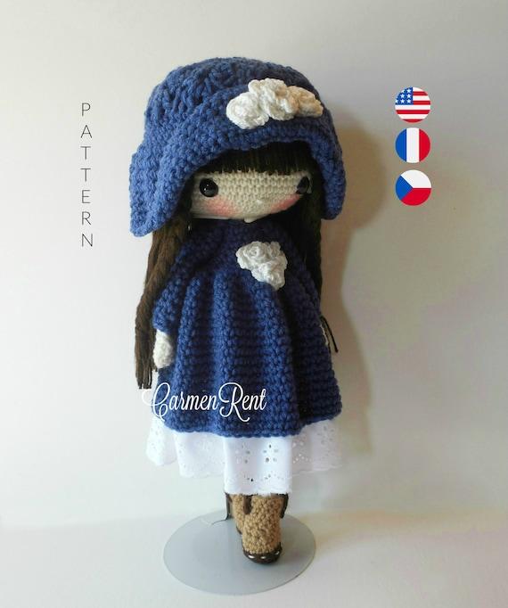 Molly Crocheted Amigurumi Doll [FREE Crochet Pattern] | 682x570