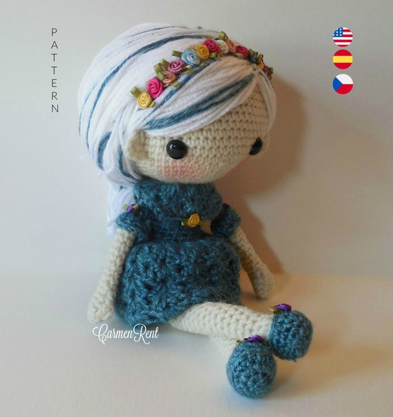 Coraline - Amigurumi Doll Crochet Pattern PDF   Ganchillo ...   605x570
