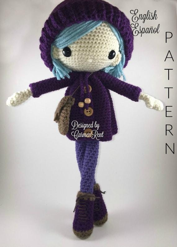 Emilia Amigurumi Doll Crochet Pattern PDF | Etsy