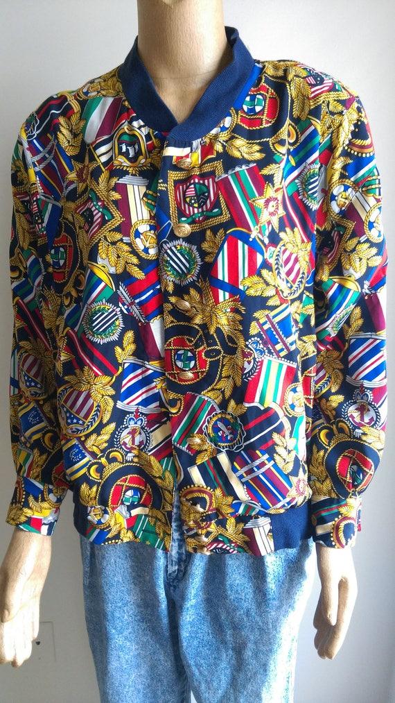 vintage nautical jacket