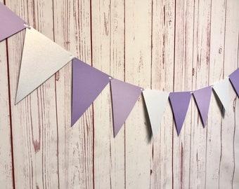 Purple Triangle Bunting, Winter Onederland Garland, Winter Onederland Decorations, Ice Princess Party, Winter 1st Birthday, Cake Smash Photo