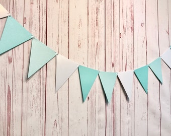 Winter Onederland Garland, Winter Onederland Decorations, Ice Princess Party, Triangle Bunting, Winter 1st Birthday, Cake Smash Photo Props