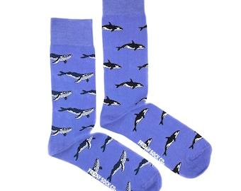 Bamboo fibre seahorse socks.Jellyfish socks.Sea creature socks.Ocean lover socks.