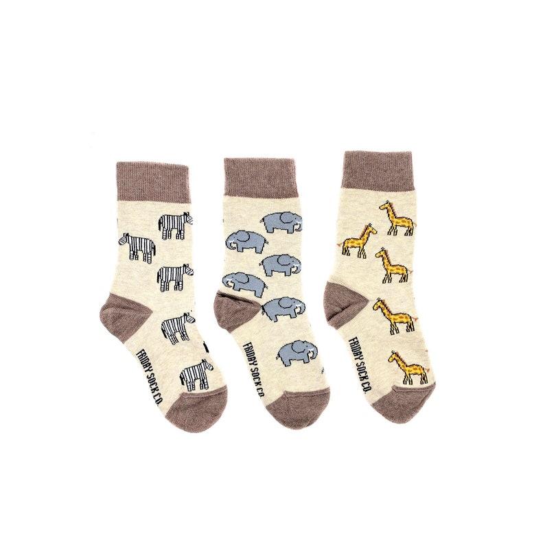 KIDS Socks Mismatched Mismatched Socks Fun Socks Animal Socks Safari Cool Socks Odd Socks Funky Socks
