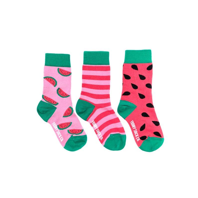 c13d7e60b9 Kinder Socken Übereinstimmende Socken Wassermelone | Etsy