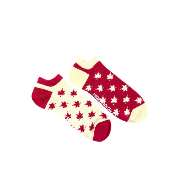 d5946d74b08e Mens Ankle Socks Oh  Canada Socks Funky Socks Fun
