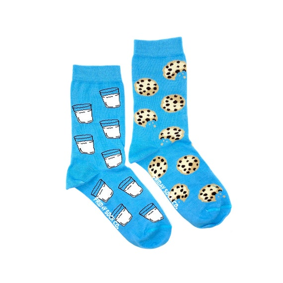 Milkbox Sock.Milk Sock.Novelty Socks.Fun Socks.Happy Socks.Tube Socks
