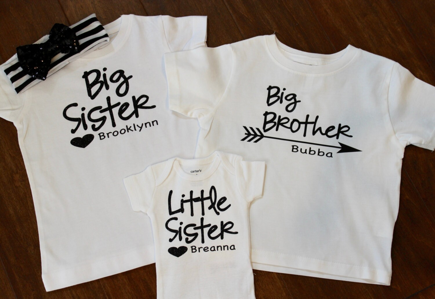0164d1a60 Carters Big Sister Little Sister Shirts – EDGE Engineering and ...