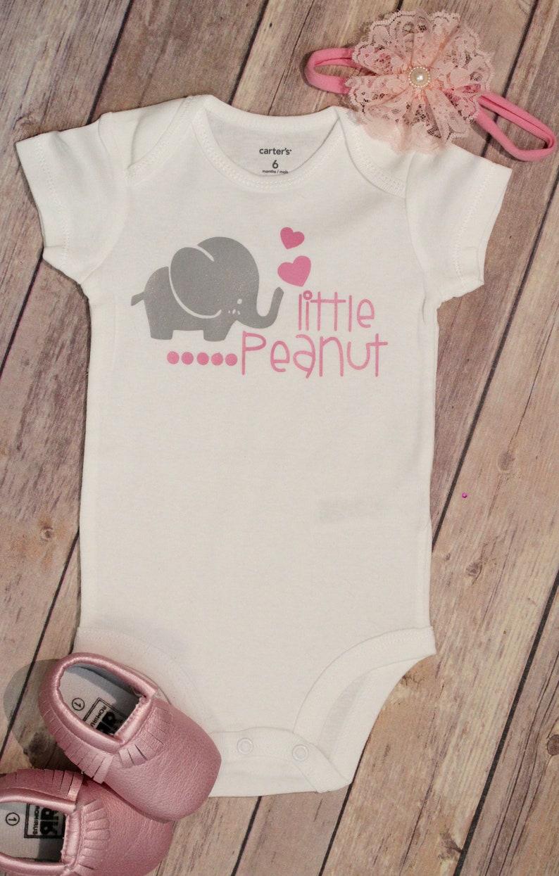 0232b151c Little Peanut Bodysuit LIttle Peanut New Baby Girl New Baby   Etsy