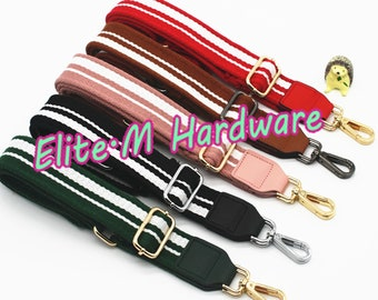 M 1PC 3.8cm Width Colorful Purse Strap Wide Shoulder Strap Inclined Strap  Handbag Strap Replacement DIY Cross-body Strap Supply 6982d3f9b9423