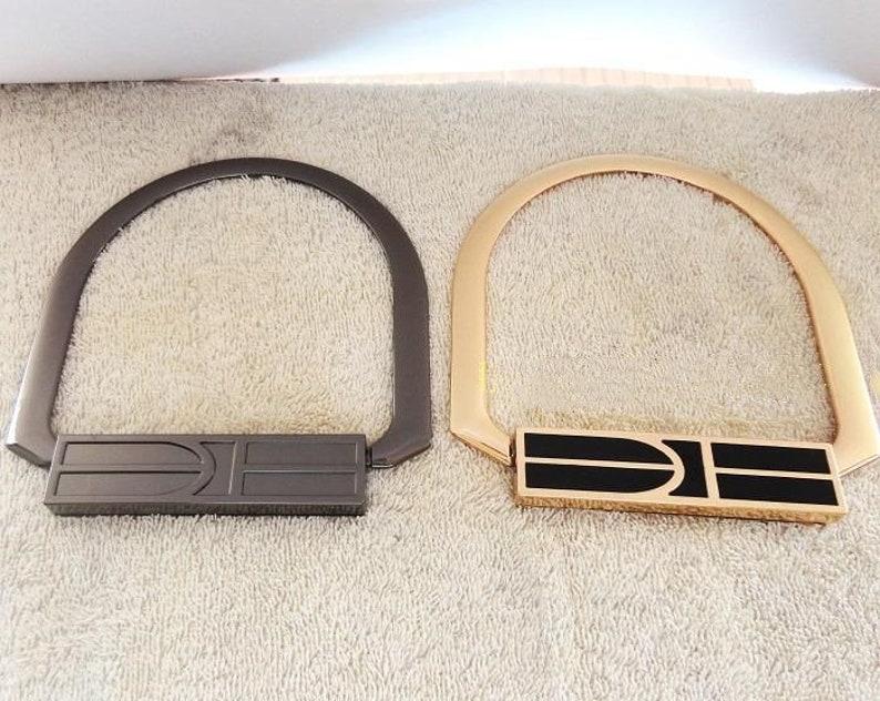 4cba395cd07 Elite.M Handbag Hardware Handle Accessories Bag Handle With Screw Fixed,DIY  Handbag Handle,Handbag Supply Wholesale In Light Golden,Gunmetal