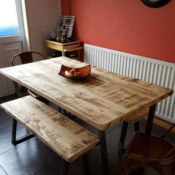 Outstanding John Lewis Calia Style Industrial Reclaimed Dining Table V Frame Steel Base Handmade Uk Andrewgaddart Wooden Chair Designs For Living Room Andrewgaddartcom