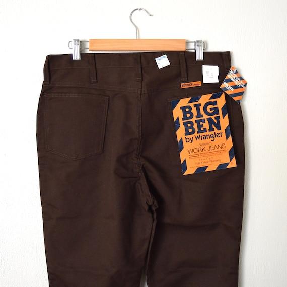 1412a5d3 Big Ben WRANGLER Men's Pants Vintage 70s Western Work | Etsy