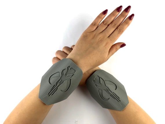 Boba Fett Mandalorian Wrist Gauntlet 3d Printed Perfect Etsy