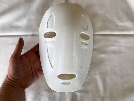 Spirited Away No Face Mask From The Miyazaki Movie Wearable Etsy
