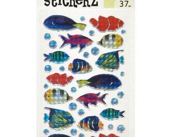 Darice Holographic Fish Stickers