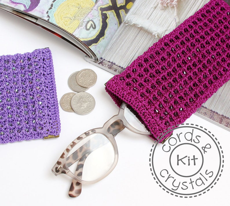 Crochet Spectacle Case Kit image 0