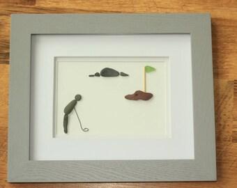 Golf - Pebble Art