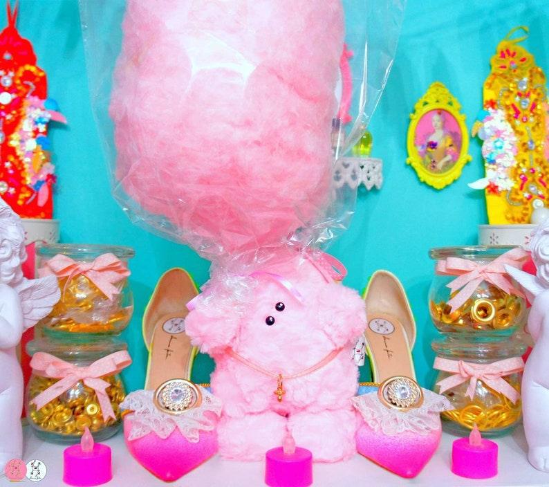 Cotton candy plush Cotty the chubby cotton candy image 0