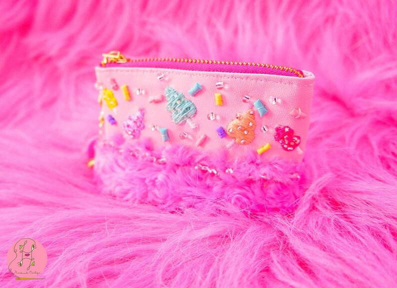 Lavinia fenton embroidery cotton candy festival coin image 0